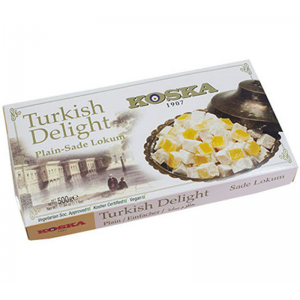 Turkish Delight Plain 500gr