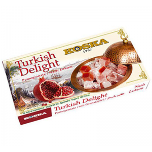 Turkish Delight Pomegranate Flavoured 500gr