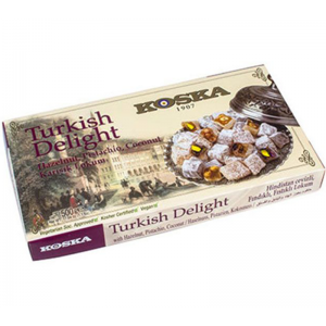 Turkish Delight With Hazelnut Pistachio Coconut 500gr