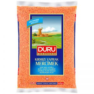 Duru Split Red Lentils 1kg
